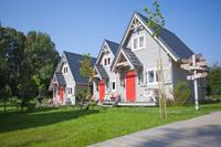 Zonnige bungalow in Pommeren op 400 m van het strand