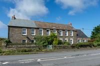 Mooi vakantiehuis in Wadebridge met open haard in de slaapkamer en leuke tuin