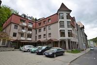 Ruim appartement in de Bohemen nabij een skigebied