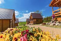 Mooie vakantiecottage aan de Baltische kust met speeltuin
