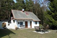 Gezellig, klein vakantiehuis aan de bosrand met prachtig uitzicht