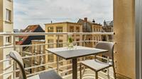 Essential Suite - 2p   Dubbelbed   Balkon - Stadszicht - België - Belgische kust - Blankenberge
