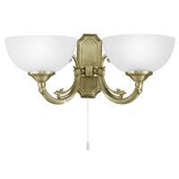 Eglo Verlichting Stijlvolle wandlamp Savy 2 lichts