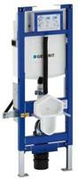 Duofix Sigma 12 cm inbouwreservoir met frame variabele closethoogte 41-49cm
