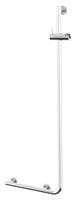 Wandbeugel met Glijstang  Boston Comfort en Safety 114 cm Rechts RVS
