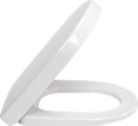 Subway 2.0 toiletzitting met deksel en softclose en quickrelease, wit