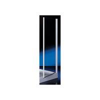 Royal draaideur 6 mm glas 86/90x185 cm, chroom