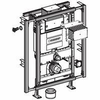 Gis Easy omega inbouwreservoir h90 front/planchetbediening