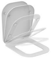 Tonic ii toiletzitting met deksel en softclose, wit