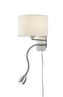 Trioleuchten Risa - wandlamp gecombineerd met leeslamp