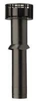 Multivent pijp zwart 750x131(110)mm 189000