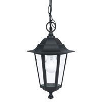 Eglo Buitenverlichting hanglamp Laterna 4 zwart