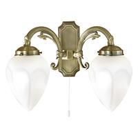 Eglo Verlichting Antieke wandlamp Impery 2 lichts
