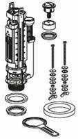 bodemventiel type 290 duobloc grote/kleine spoeling