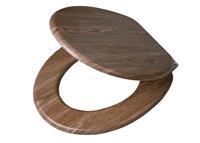Tiger toiletzitting Scaffold Wood - houtlook - 5,7x37,3x45 cm