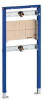 Duofix inbouwelement bad/douche mengkraan staal (hxbxd) 1120x500x108mm uitvoering inbouwkraan
