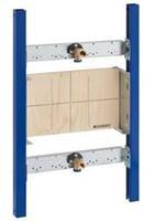 Duofix inbouwelement bad/douche mengkraan staal (hxbxd) 780x500x108mm uitvoering opbouwkraan