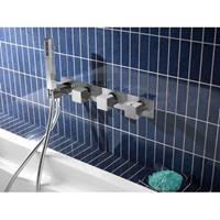 Hot Bath Bloke 061 Inbouw bad/douche thermostaat 2 stopkranen...