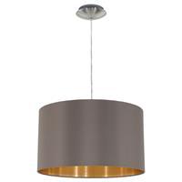 Eglo Verlichting hanglamp Maserlo D38 cm cappuccino 31603