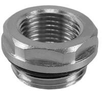 Korver radiator reduceerplug 1/2x3/4 met O-ring
