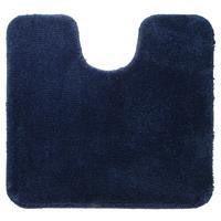 Sealskin Angora wc mat blauw 55 x 60 cm