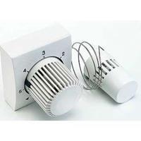 Comap radiatorthermostaatknop recht wit aansluiting op radiatorafsluiter M28x1.5 bediening op afstand