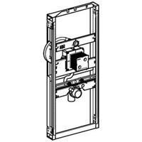 Geberit Gis inbouwelement urinoir z/spoelinr. staal (hxbxd) 1140x424x75mm oppervlaktebescherming elektrolytisch verzinkt