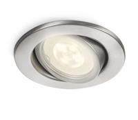 Philips Inbouwspot Fresco PH RVS led 1 x 2 Watt / 230 Volt