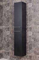 Saniclear Perfect Kolomkast zijdeglans zwart 33x188