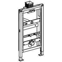 Geberit Duofix inbouwelement urinoir z/spoelinr. staal (hxbxd) 980x500x160mm constructie zelfdragend