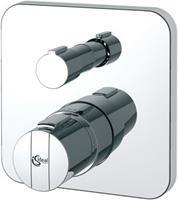 Idealstandard Ceratherm 200 New inbouwmengkraan afbouwdeel chroom. glans toepassing douchethermostaat thermostatisch