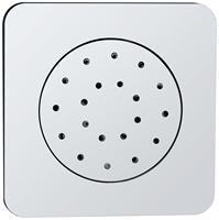 Mueller Wiesbaden Rombo ABS verstelbare inbouw zijdouche chroom