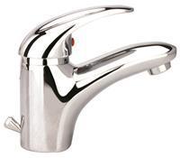 Wastafel Mengkraan Schutte Aqua2Save Chroom Waterbesparend