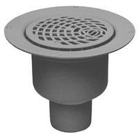 Vandenberg Vinyl vloerput met 1 aansluiting uitwendige buisdiameter 75mm hoogte 120mm vloerput polyetheen (PE)