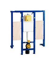 WISA XS L inbouwreservoir voor frontbediening met steunbeugelelementen