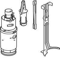 Geberit Twico bodemventiel toebehoren voor spoelreservoir