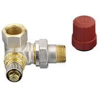 Danfoss RA-N radiatorafsluiter uitvoering staartstuk/binnendraad dubbelhaaks rechts thermostatisch voorbereid