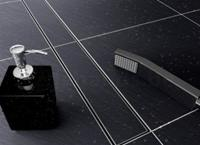 Wiesbaden RVS tegelrooster tbv douchegoot 60x7cm