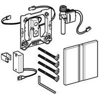 Geberit Sigma50 bedieningspaneel closet/urinoir staal chroom. geborsteld (lxbxh) 130x130x11mm