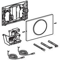 Geberit Sigma10 bedieningspaneel closet/urinoir roestvaststaal (RVS) RVS geborsteld/gepolijst/ (lxbxh) 246x164x14mm