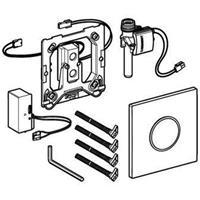 Geberit Sigma10 bedieningspaneel closet/urinoir kunststof wit/mat chroom/ mat chr. (lxbxh) 130x130x11mm