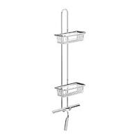 Emco System 2 etagere messing chroom (hxbxd) 846x200x116mm