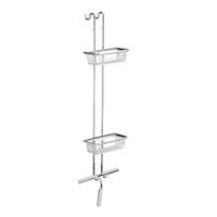 Emco System 2 etagere messing chroom (hxbxd) 700x200x113mm