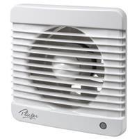 Plieger ventilator basic 185m³ ø 125 mm met timer wit