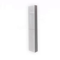 Best Design Half-Hoge Kolomkast LOURS L&R 120x35x30 cm Glans-Wit
