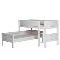 Lifetime Life Time Stapelbed Hoek Rechte Trap White Wash