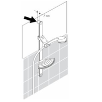 Hansgrohe Opvulschijfje Unica'Classic Douchestang 98992000