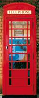 Telephone Box Fotobehang 86x200cm