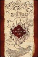 Harry Potter Marauders Map Poster 61x91,5cm