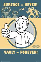 Fallout 4 Vault Forever Poster 61x91,5cm